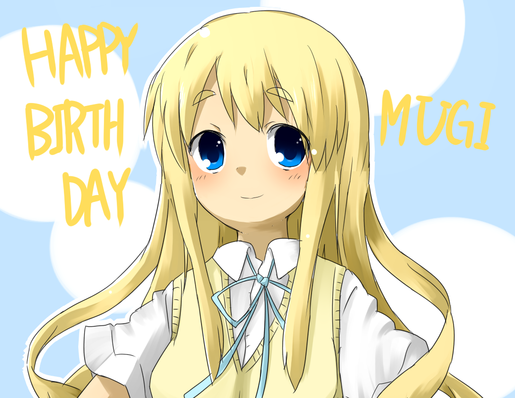 HAPPY BIRTHDAY MUGI